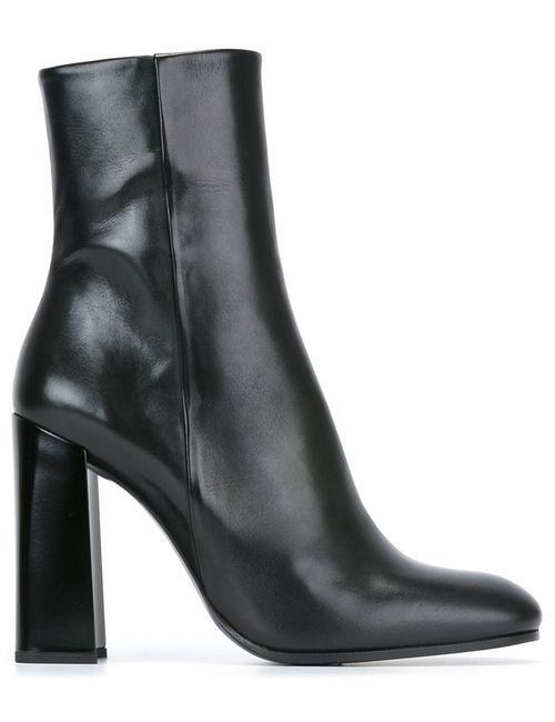 Jil Sander | Женские Чёрные Ботинки По Щиколотку