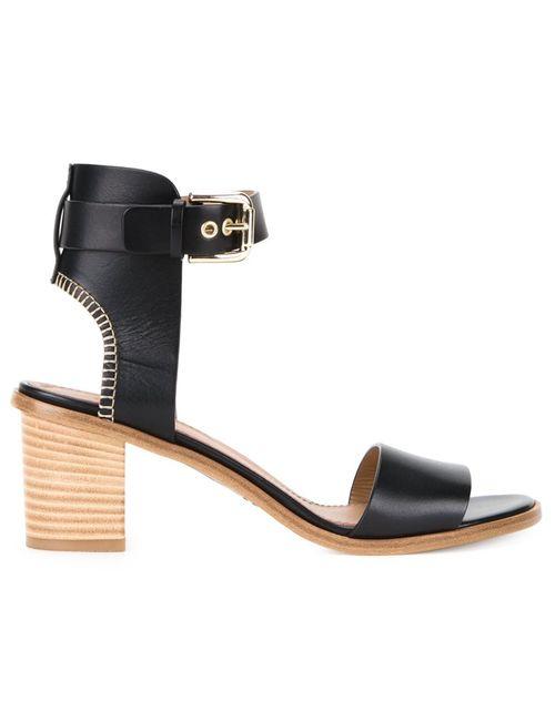 SCANLAN THEODORE | Женское Чёрный Mid-Heel Sandals