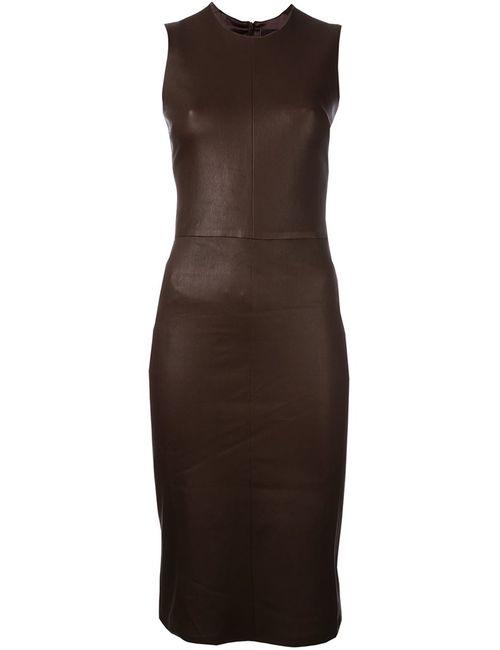 STOULS | Женское Коричневое Платье Eva Plonge