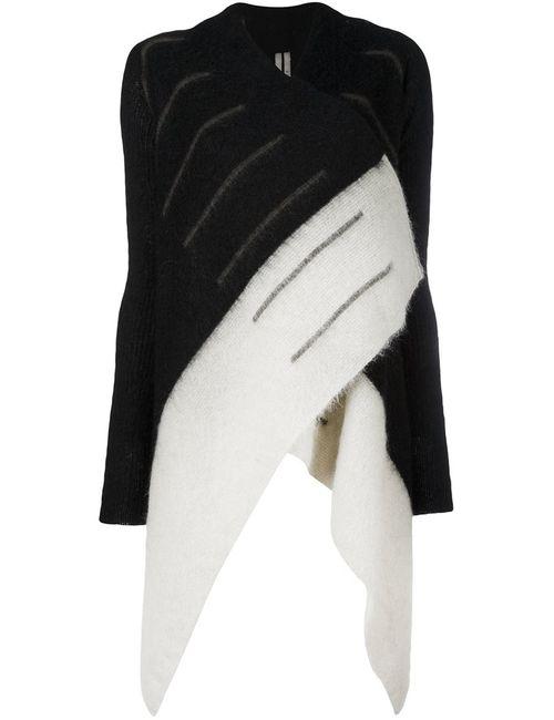 Rick Owens | Женское Чёрный Medium Wrap Cardigan