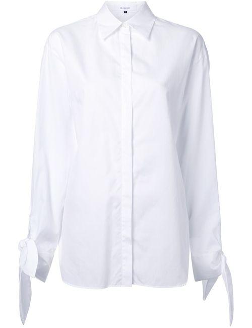 LE CIEL BLEU | Женская Белая Рубашка С Бантом