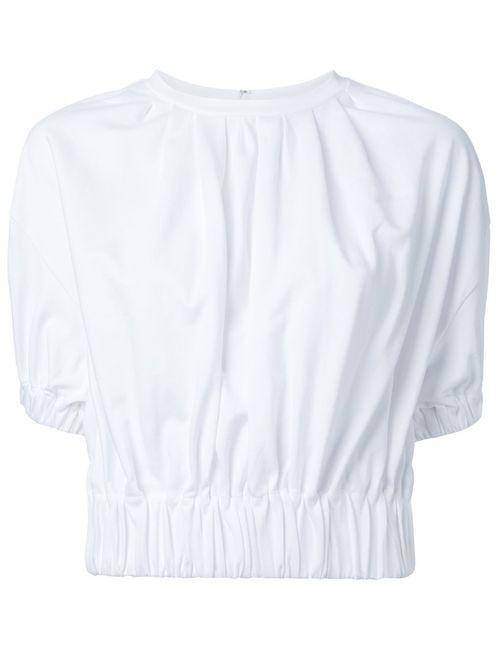 LE CIEL BLEU | Женское Белый Gather Puff Jersey