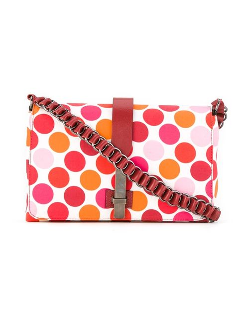 Reinaldo Lourenço | Красный Printed Crossbody Bag