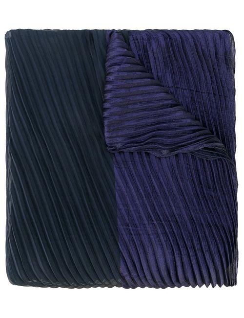 Armani Collezioni | Женское Синий Pleat Detail Scarf