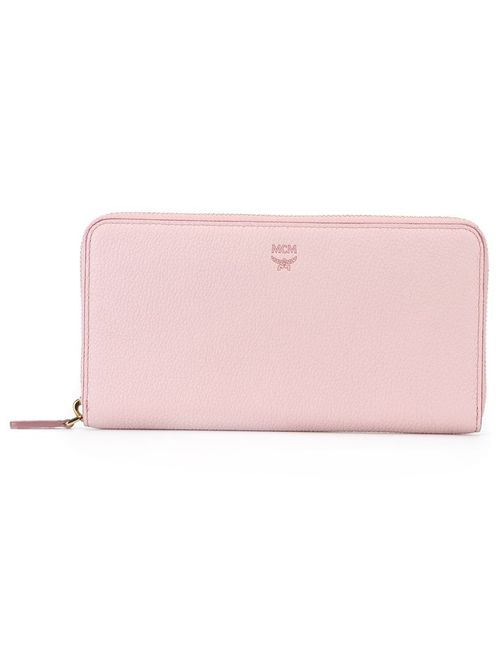 MCM | Женский Розовый Кошелек С Круговой Молнией