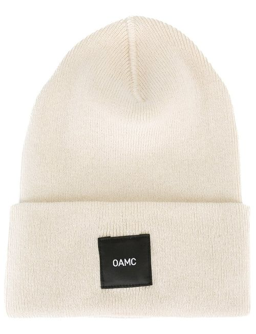 Omc | Женское Logo Patch Beanie