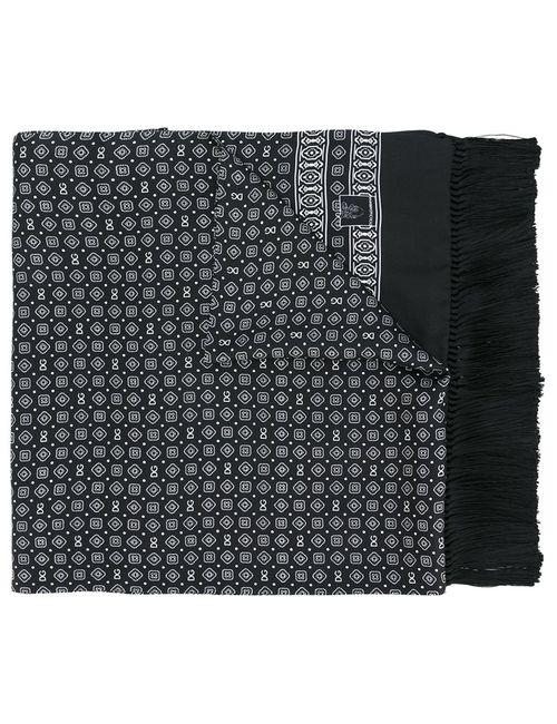 Dolce & Gabbana   Мужской Чёрный Платок С Узором