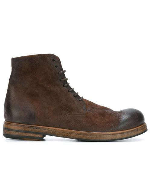 Marsell | Женское Коричневый Marsèll Gradient Lace Up Boots