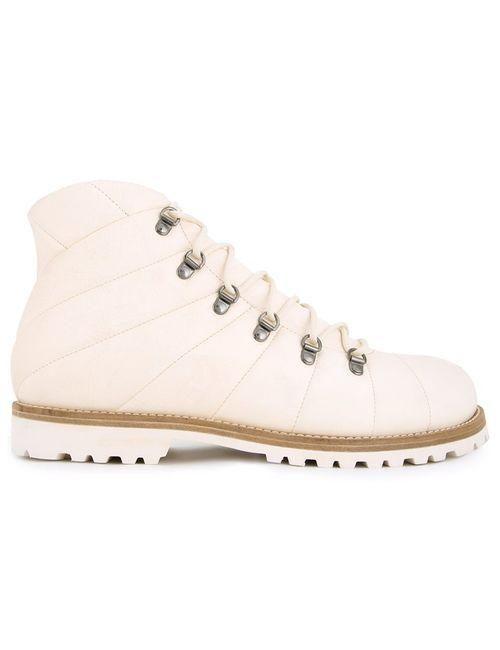 Peter Non | Мужские Белые Ботинки Для Треккинга
