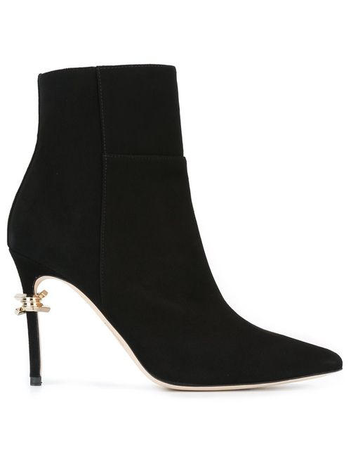 Dsquared2   Женское Чёрный Babe Wire Ankle Boots