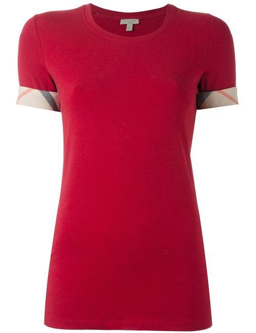 Burberry | Женская Красная Футболка Brit