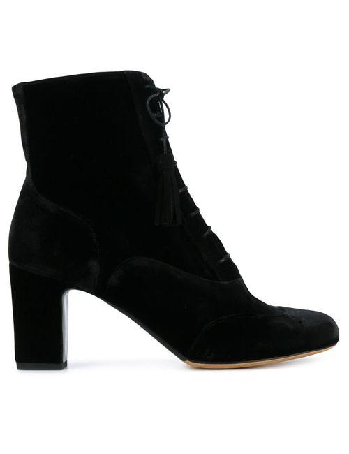 Tabitha Simmons | Женские Чёрные Ботинки По Щиколотку Afton