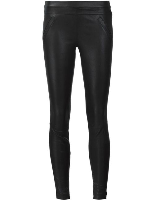 RTA | Черный Sonia Leather Trousers