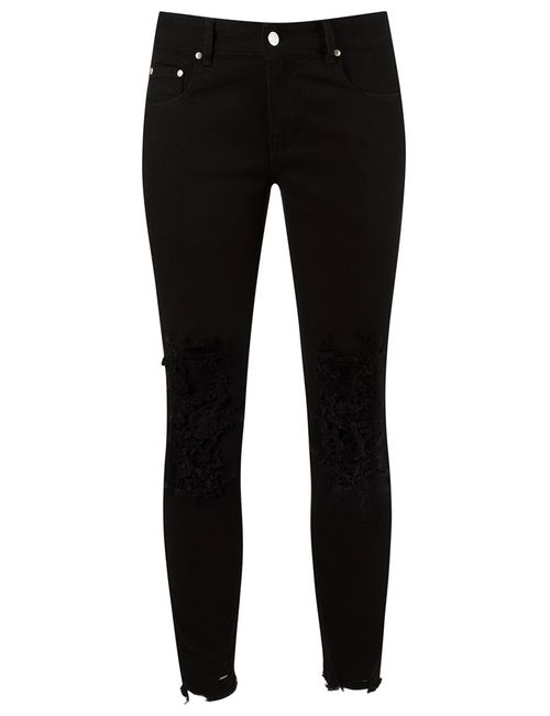 Amapô | Чёрный Skinny Jeans