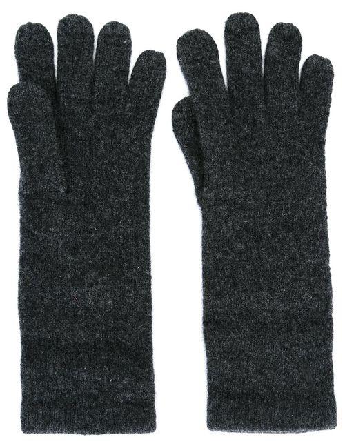 Polo Ralph Lauren | Женские Серые Перчатки С Вышитым Логотипом
