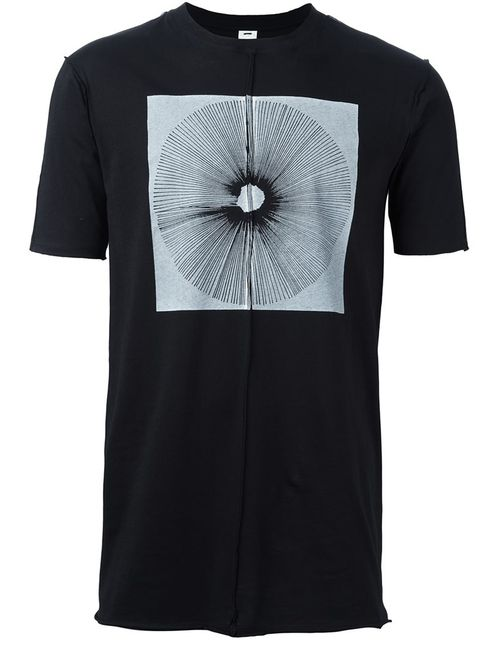Damir Doma | Мужское Чёрный Tate T-Shirt