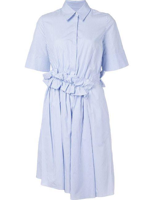 Victoria, Victoria Beckham | Женское Синий Flared Shirt Dress
