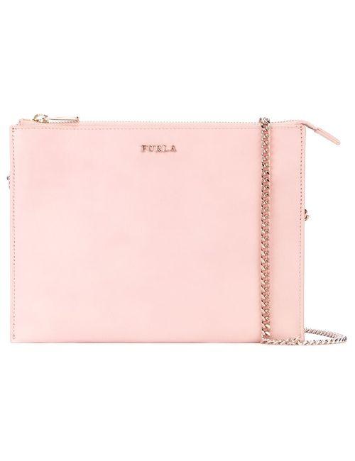 Furla | Розовая Сумка Через Плечо С Цепочной Лямкой