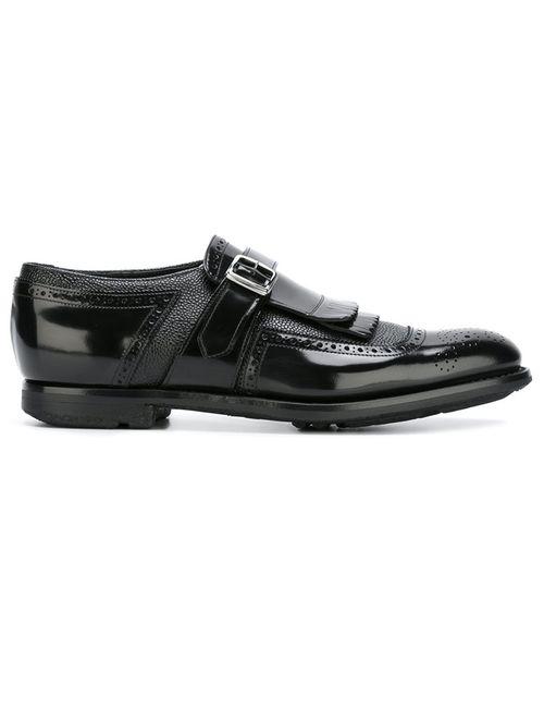 Church'S | Мужские Чёрные Туфли Shanghai