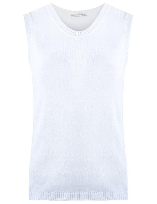 MARTHA MEDEIROS | Женское Белый Knit Tank Top
