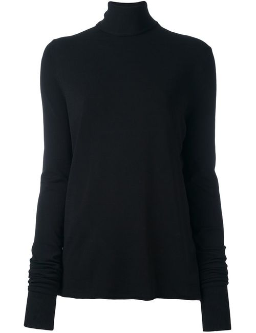 Boboutic   Женский Чёрный Джемпер С Высоким Горлом