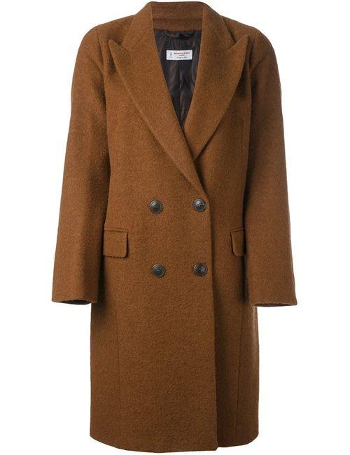 Alberto Biani | Женское Коричневое Двубортное Пальто