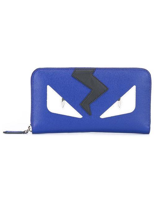 Fendi | Синий Кошелек Bag Bugs