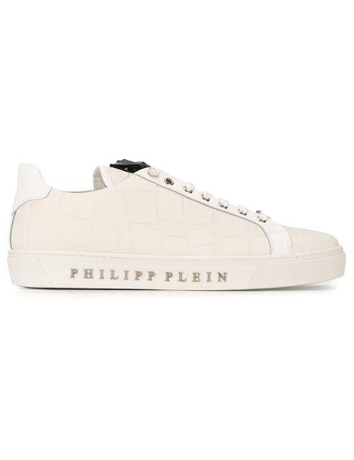 Philipp Plein | Мужские Белые Кеды Tusk