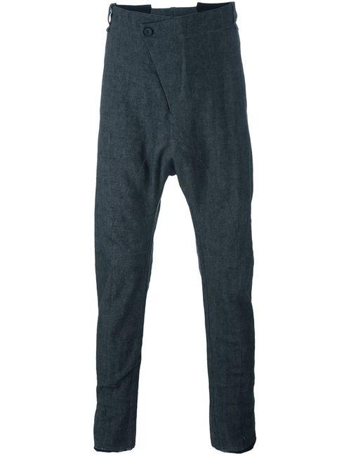 Masnada | Серый Baggy Drop Crotch Trousers