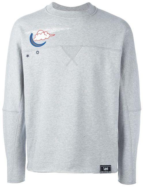 House Of Holland | Мужское Серый Hoh X Lee Collaboration Sweatshirt