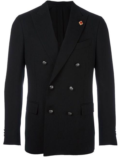Lardini | Мужское Чёрный Double Breasted Blazer