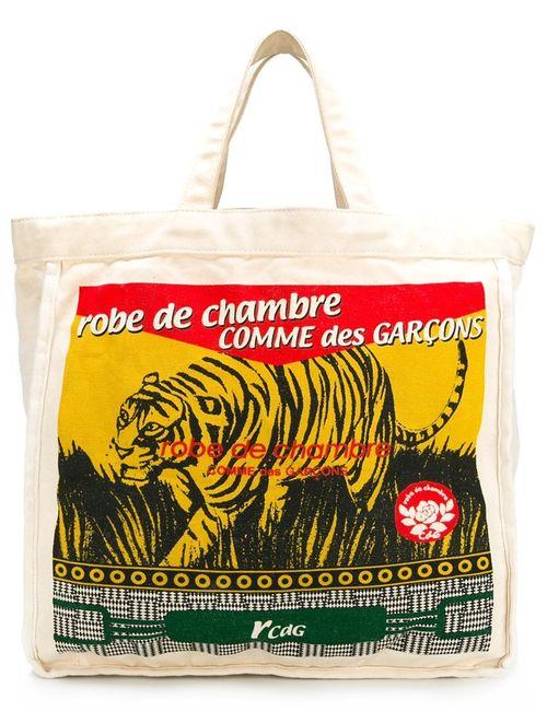 Comme Des Garcons | Женское Nude & Neutrals Printed Shopper