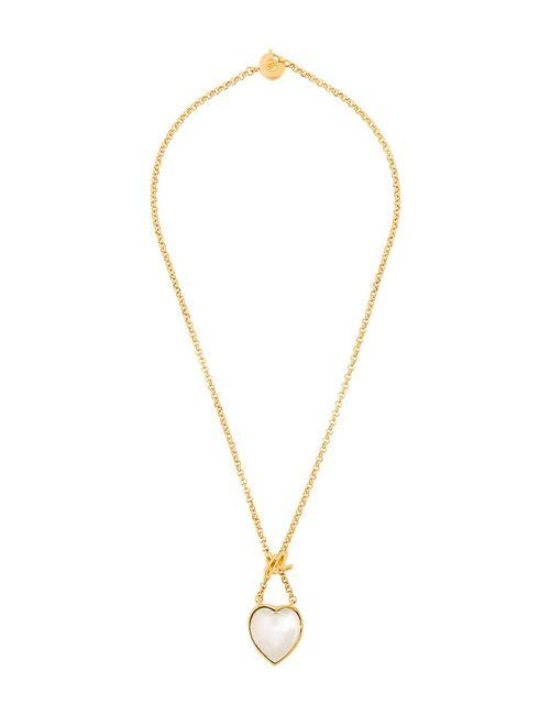 Sonia Rykiel Vintage | Серебристый Heart Pendant Necklace