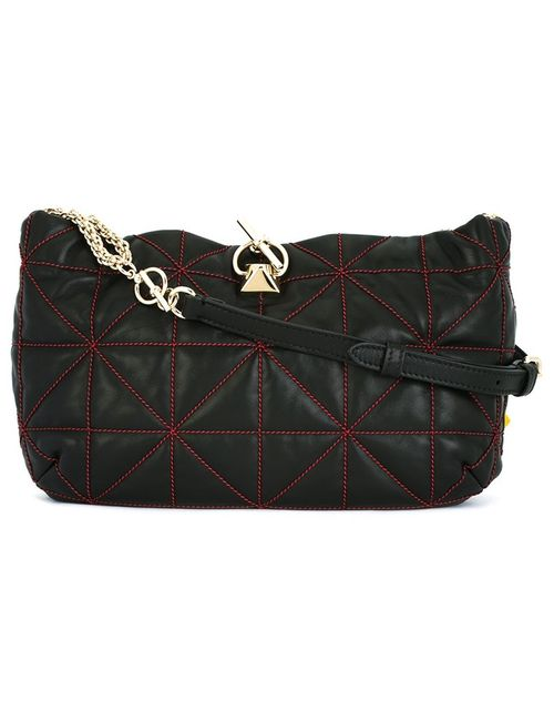 Sonia Rykiel | Черный Geometric Pattern Crossbody Bag