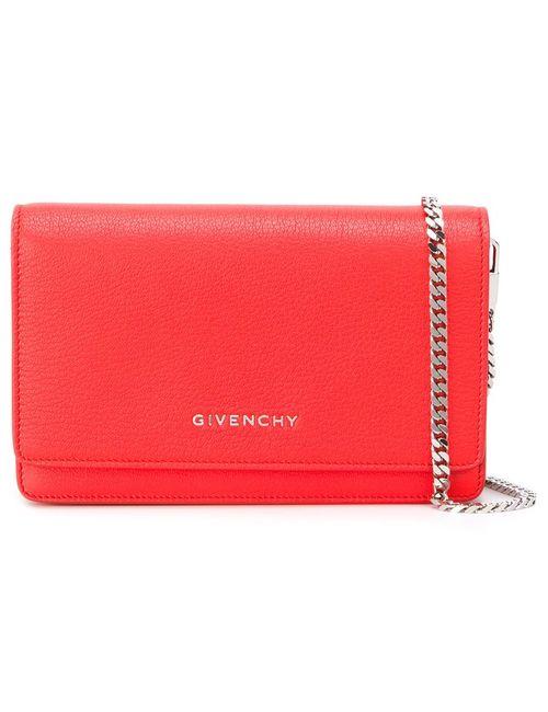 Givenchy | Жёлтая Маленькая Сумка Через Плечо Pandora