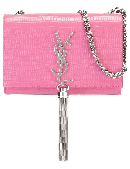 Saint Laurent | Розовая Маленькая Сумка Через Плечо Monogram