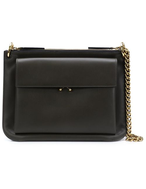 Marni | Зелёный Double Compartment Shoulder Bag