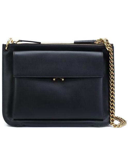 Marni | Черный Double Compartment Shoulder Bag