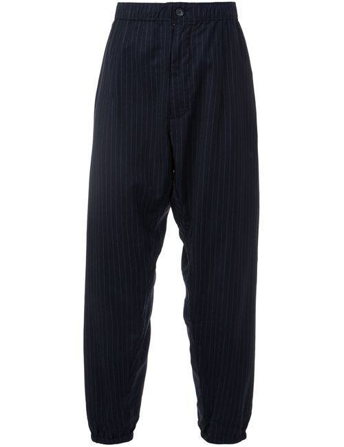 Engineered Garments | Синий Striped Balloon Trousers