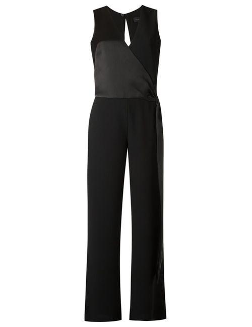 GIULIANA ROMANNO | Чёрный Tie Fastening Jumpsuit