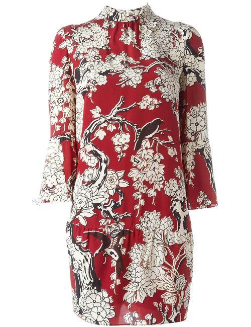 Valentino | Женское Красный Enchanted Tree Dress