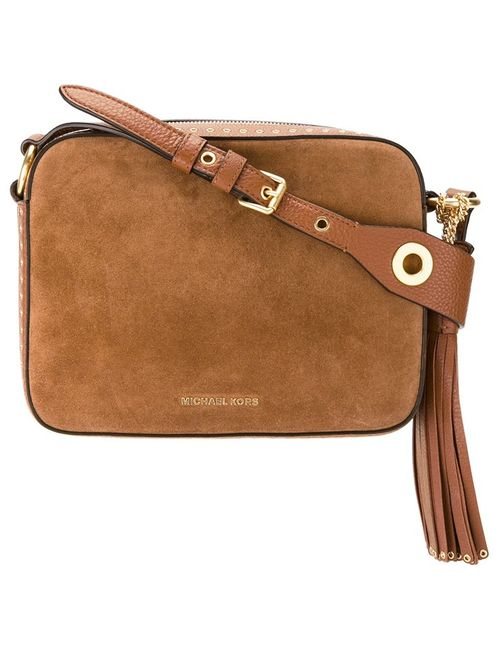 Michael Michael Kors | Коричневый Large Brooklyn Camera Crossbody Bag