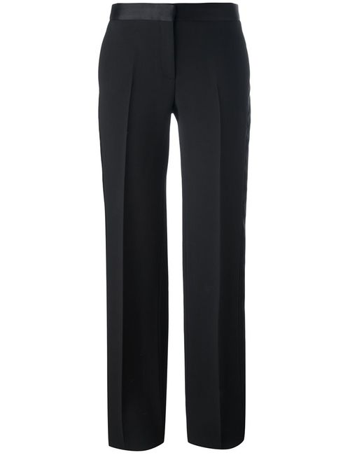 Alexander McQueen | Чёрный Straight-Leg Tailored Trousers