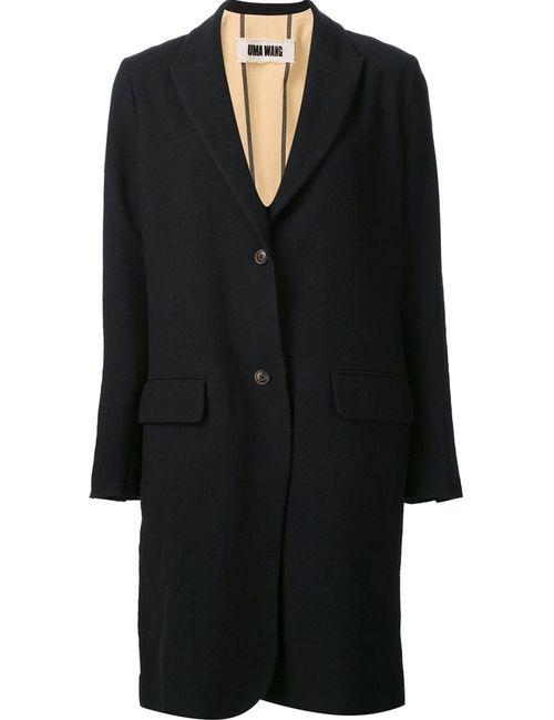UMA WANG | Женское Чёрный Striped Back Mid Coat