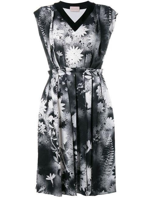 Christopher Kane | Женское Чёрный Sprayed Print Dress
