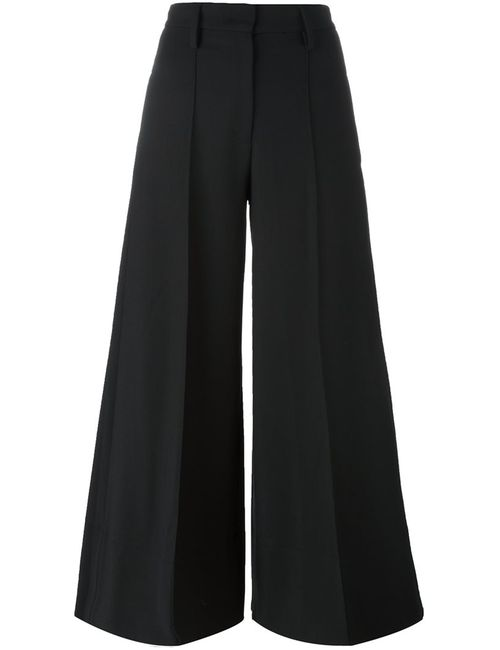 Piazza Sempione | Чёрный Super Wide Culottes