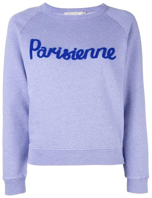 Maison Kitsune | Женская Синяя Толстовка Parisienne