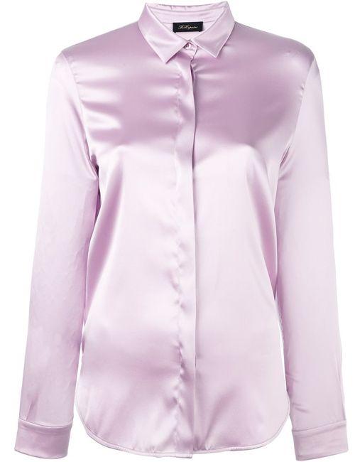 Les Copains | Женская Розовая Рубашка С Потайной Застежкой Спереди