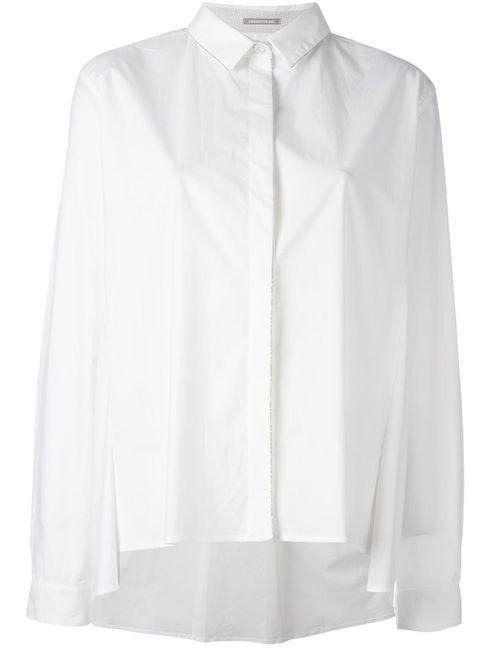 Hemisphere | Женское Белый Beaded Trim Shirt