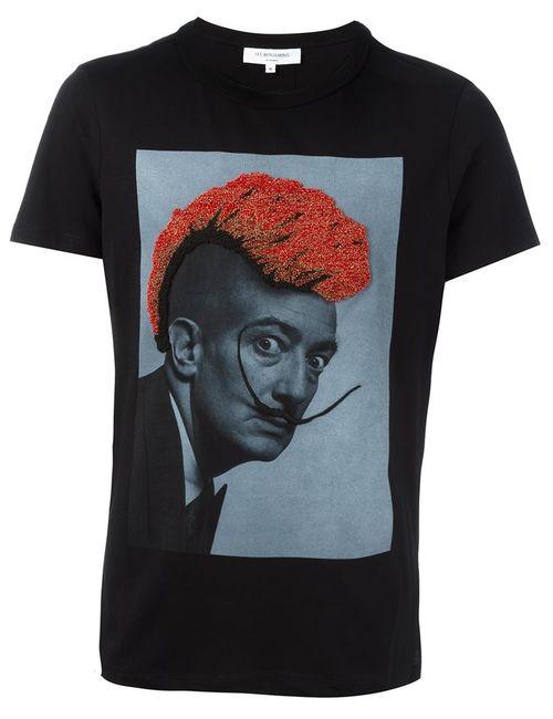 Les Benjamins | Мужское Чёрный Dalí Print T-Shirt